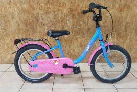 "BBF Kinderrad ""Giraffe"" blau/pink"